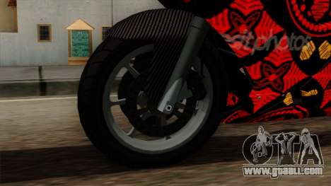 Bati Batik for GTA San Andreas right view