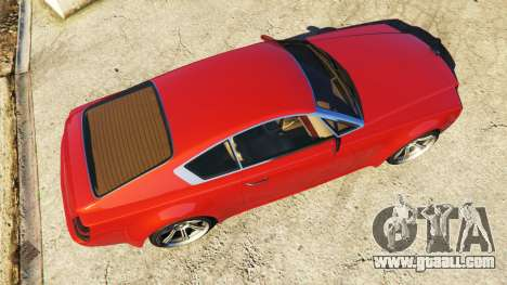GTA 5 Enus Windsor Rolls Royce Wraith back view