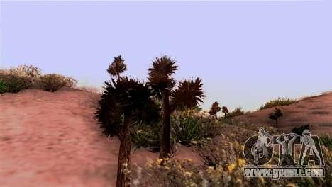 Real texture vegetation for GTA San Andreas second screenshot