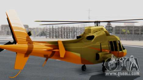 Swift Deluxe for GTA San Andreas left view