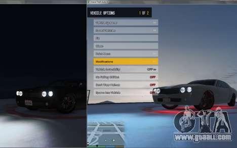GTA 5 Native Trainer ENT second screenshot