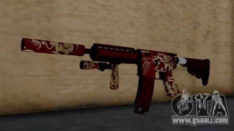 M4A1 Royal Dragon for GTA San Andreas