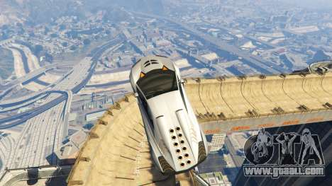 GTA 5 Maze Bank Mega Spiral Ramp