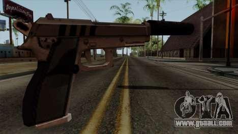 Original HD Silenced Pistol for GTA San Andreas second screenshot