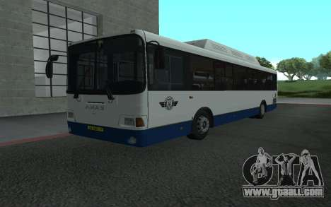 LiAZ 5293.70 for GTA San Andreas left view