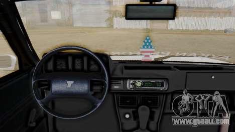 Tofas Turbo SLX 1.6 for GTA San Andreas back left view