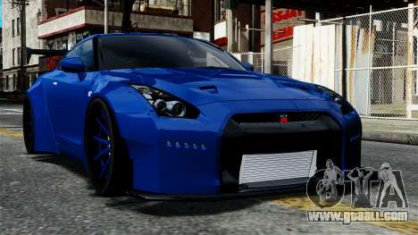 Nissan GT-R R35 Liberty Walk for GTA 4