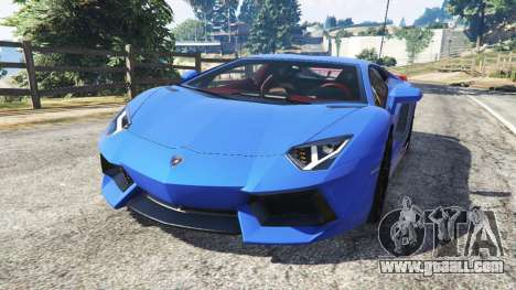 Lamborghini Aventador LP700-4 v1.2 for GTA 5