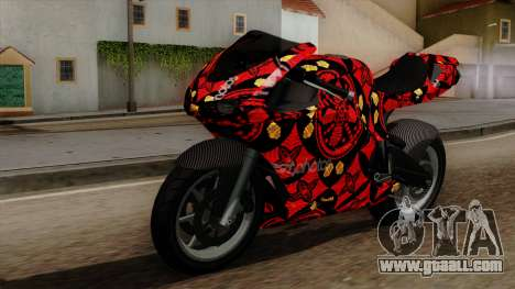 Bati Batik for GTA San Andreas
