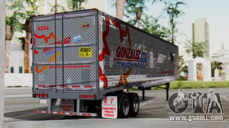 International ProStar Trailer for GTA San Andreas left view