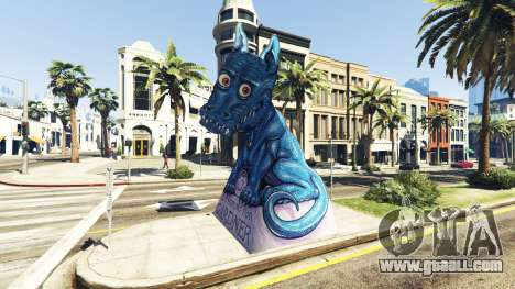 GTA 5 Statue Dragon Ilusion second screenshot