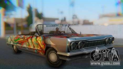 Savanna New PJ for GTA San Andreas left view