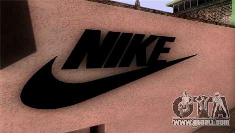 New Shop Nike for GTA San Andreas third screenshot