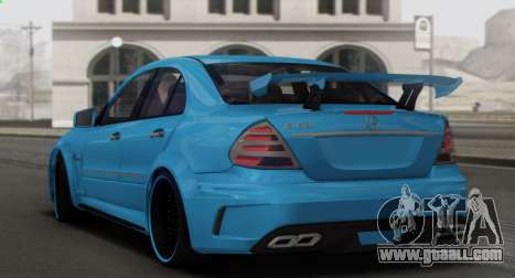 Mercedes-Benz E63 Qart Tuning for GTA San Andreas engine