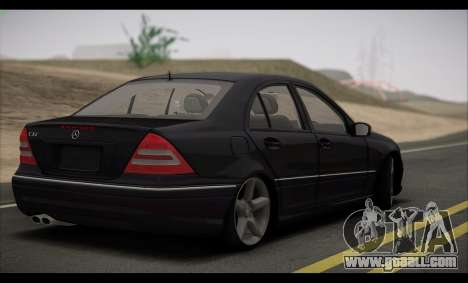 Mercedes-Benz C32 W203 2004 for GTA San Andreas side view