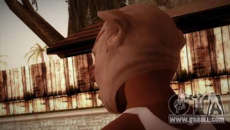 Cerdo Zombie for GTA San Andreas second screenshot