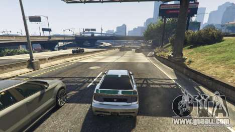 GTA 5 Death trap on the highway fourth screenshot