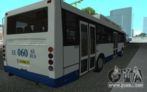 LiAZ 5293.70 for GTA San Andreas back left view