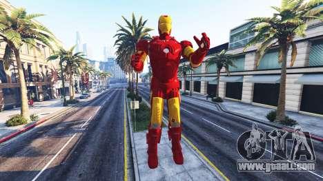 GTA 5 The statue of iron man