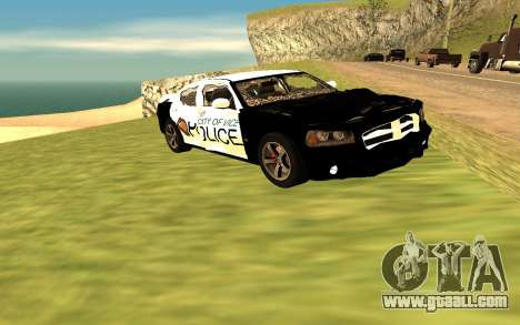 Dodge Charger Super Bee 2008 Vice City Police for GTA San Andreas right view