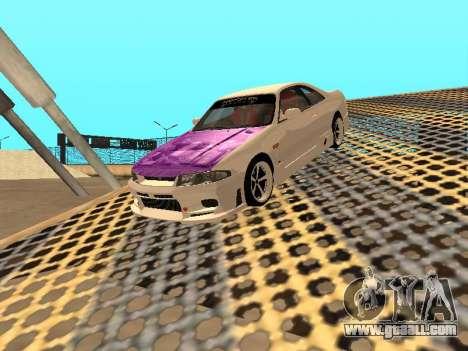 Nissan Skyline R33 Drift Monster Energy JDM for GTA San Andreas engine