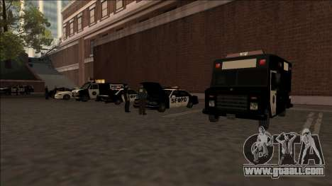 DLC Big Cop and All Previous DLC for GTA San Andreas