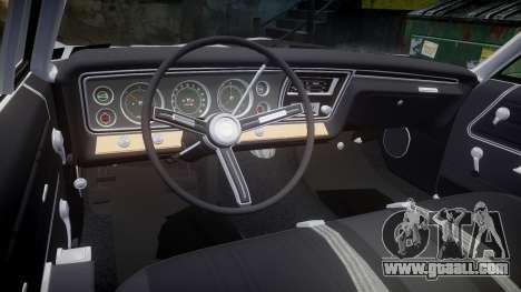 Chevrolet Impala 1967 Custom for GTA 4 side view