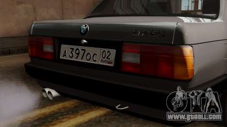 BMW 325i for GTA San Andreas back view
