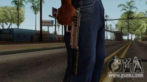 Original HD Silenced Pistol for GTA San Andreas third screenshot