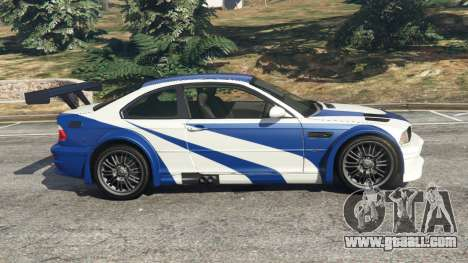 BMW M3 GTR E46 Most Wanted v1.3 for GTA 5