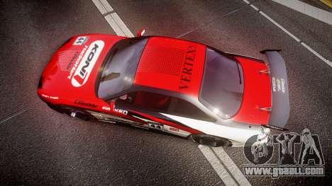 Nissan Silvia S14 Koni for GTA 4 right view
