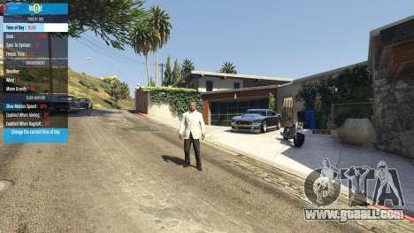 GTA 5 QF Mod Menu 0.3 sixth screenshot