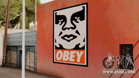 OBEY Graffiti for GTA San Andreas
