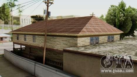 The new interior of CJ house for GTA San Andreas third screenshot