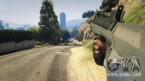 GTA 5 Battlefield 4 Famas seventh screenshot