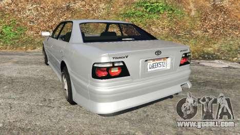 GTA 5 Toyota Chaser 1999 v0.3 rear left side view