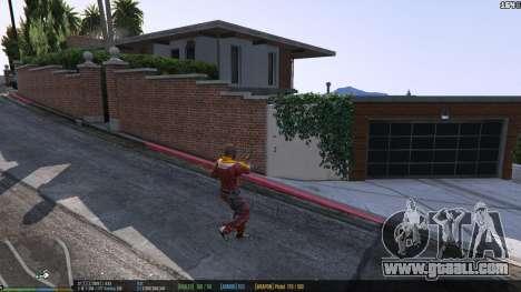 GTA 5 The status bar v.0.1 fifth screenshot