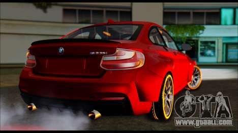 BMW 235i F22 for GTA San Andreas left view