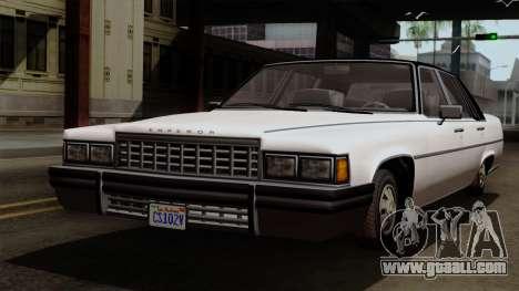 GTA 5 Albany Emperor for GTA San Andreas
