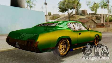 New Sabre Devil for GTA San Andreas left view