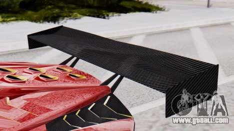 Pegassi Zentorno SM GT3 for GTA San Andreas right view
