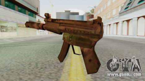 MP5K Silenced SA Style for GTA San Andreas second screenshot