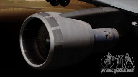 Boeing 747 Korean Air for GTA San Andreas right view