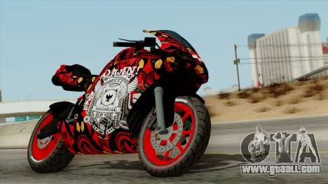 Bati Batik Motorcycle v2 for GTA San Andreas