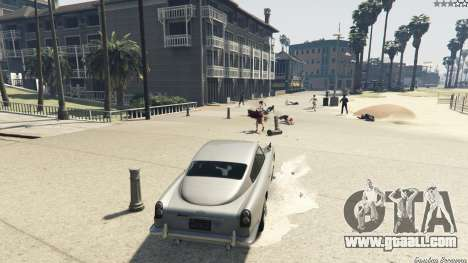 GTA 5 Working gadgets on the car JB700 fifth screenshot