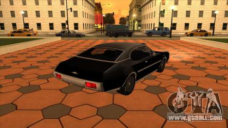 Muscle-Clover [BETA V.1] for GTA San Andreas left view