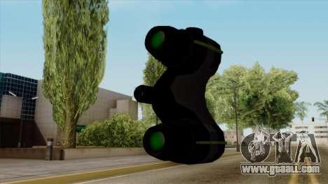 Original HD Thermal Goggles for GTA San Andreas third screenshot