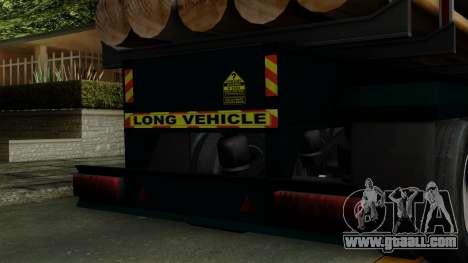 Trailer Log v2 for GTA San Andreas back view