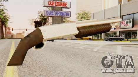 Bleed original pump action shotguns for GTA San Andreas second screenshot