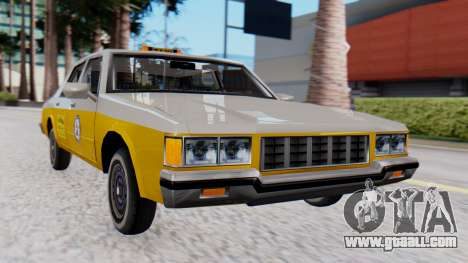 Chevrolet Caprice 1980 SA Style Cab for GTA San Andreas